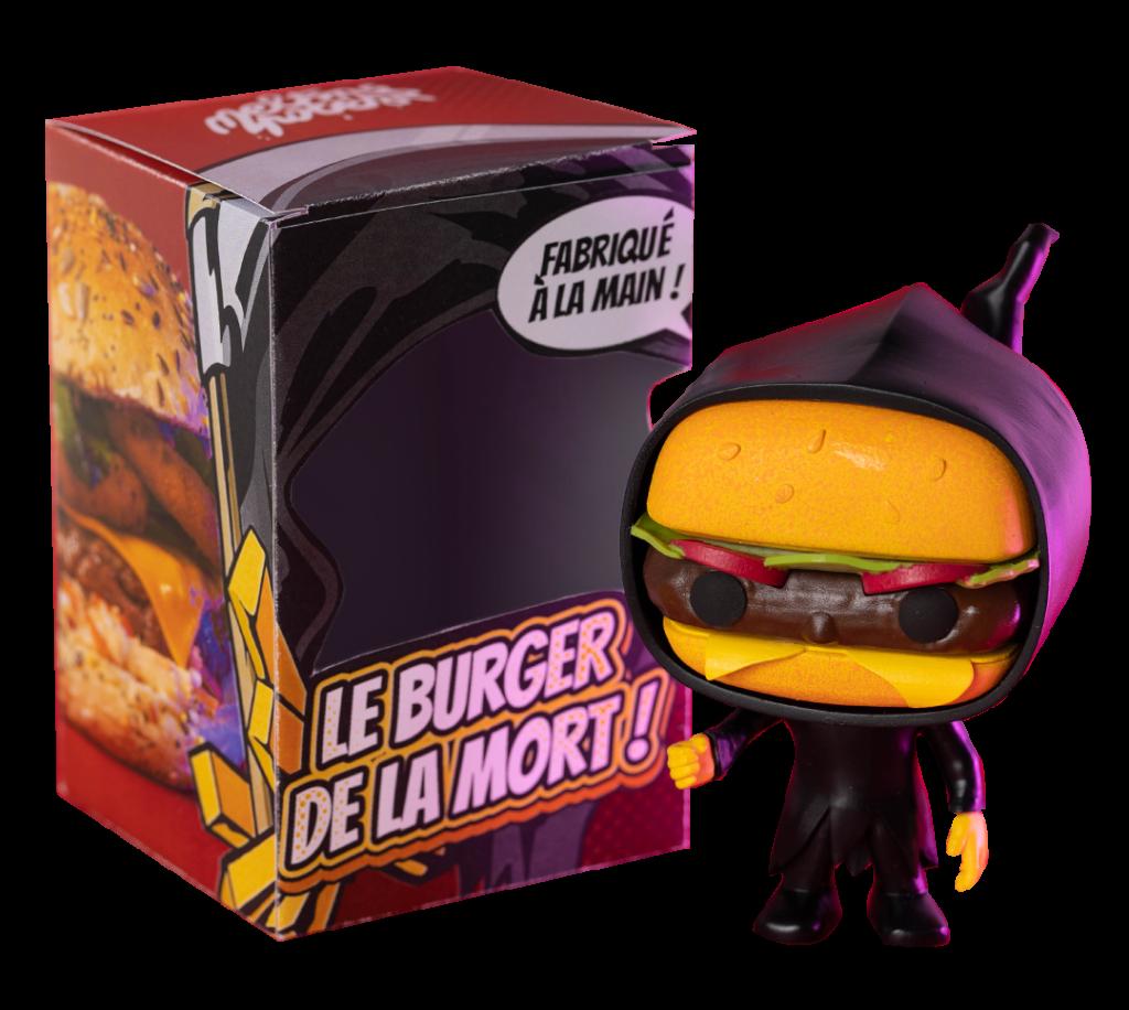 Figurine Burger de la mort